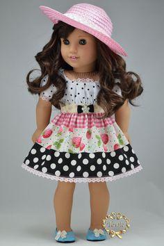 """American girl muñeca ropa OOAK """"Ocasiones especiales"""" (artículos de 4 piezas…"""
