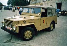 East German Army IFA-P2M (with windshield up and canvas top cover on)