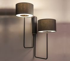 T59 Duo wall light by Martin Huxford