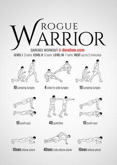 Rogue Warrior Workout