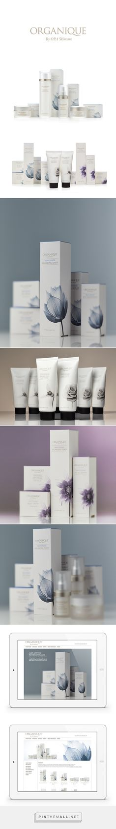 Organique Skincare Packaging by Stephanie Currie | Fivestar Branding – Design and Branding Agency & Inspiration Gallery