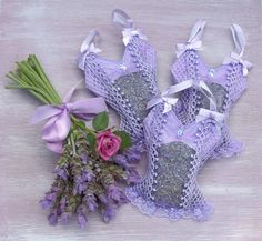 sachet bags | these adorable lavender camisole sachet bags are the perfect fragrant ...