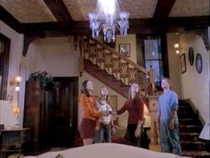 """Inside Halliwell Manor: A House That's """"Charmed"""" Victorian Parlor, Victorian Gothic, Victorian Homes, Serie Charmed, Charmed Tv Show, Charmed Book Of Shadows, Tudor Style Homes, Witch House, Practical Magic"""