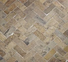 Floor tile / natural stone / rustic look - ANTIQUE ENGLISH (HERRINGBONE) - Lapicida