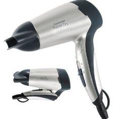 Lloytron 1200w Folding Travel Hair Dryer H1010SV Silver - 1 Year  6243877780