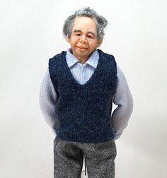 Miniatur 1 12. Skala Puppen Haus männliche Figur für die | Etsy