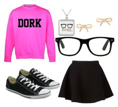 """""""Dork"""" by drpiano on Polyvore featuring Kate Spade, Neil Barrett and Converse"""