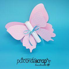 Convite borboleta #jardimencantado #borboleta #scrapfesta #patcondescrap
