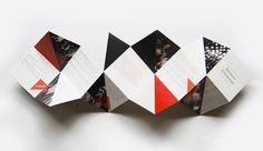 Artistes Unlimited Brochure by Khyati Trehan, via Behance