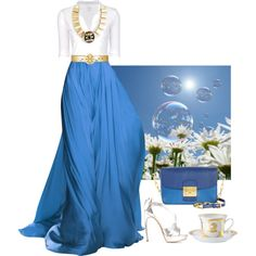 """""""Blue Equinox"""" by cocohollywood on Polyvore"""