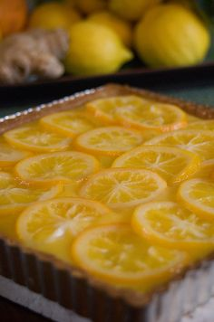 Lemon Ginger Tart :)