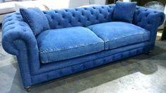 Denim Sofa Ikea Couch Furniture Funky Garden Dollhouse