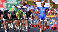 Nacer Bouhanni wins stage two of the Vuelta a Espana