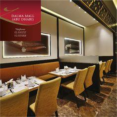 ABU DHABI - DALMA MALL #GazeboRestaurant    Ground Level, Next to E-Max  Opening Hours: 10:00 AM TO 12:00 MIDNIGHT  Telephone: 02-5501717 / 02-5501818