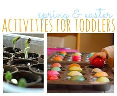 The Cheap, The Easy & The Free: Best Spring & Easter Activities For Toddlers