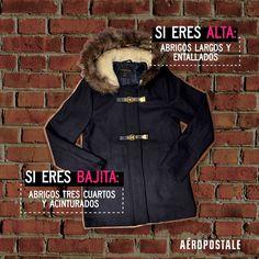 Tips para encontrar el abrigo ideal // Aéropostale Mujer // #AeropostaleMx #Aeropostale #look #outfit
