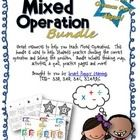 Help students learn to choose the right operation when solving a problem while discussing, using cooperative learning, and higher order thinking sk...
