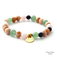 WEOLCOME TO SAINT-TROPEZ!  Our new glamurous #mensbracelet. Made of natural stones like Aventurine, Baryte, Lapislazuli, Rosequartz and gold plated solid sterlingsilver items. New! With our House of Adam Logotag! Handmade in Germany/ Stuttgart