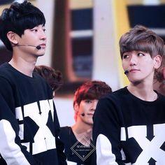 hhhh cuties [ #exo #chanyeol #baekhyun #baekyeol #exok #exom #exol #kpop ]