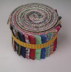 6 Eclectic Jelly Rolls 2.5 Quilting Fabric 120 Strips Quilt Patchwork Cotton
