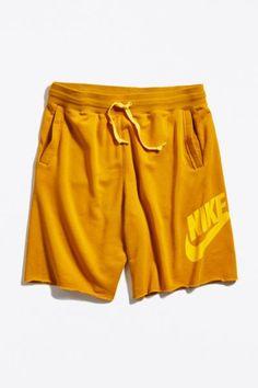 Nike Sportswear Short | Urban Outfitters Nike Design, Nike Sportswear, French Terry, Urban Outfitters, Fitness Models, Sporty, Mens Fashion, Legs, Casual