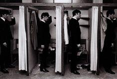 Backstage Beatles in 1963