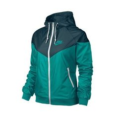 Nike Windrunner Jacket Women's ($95) ❤ liked on Polyvore featuring activewear, activewear jackets, jackets, nike, nike sportswear and nike activewear
