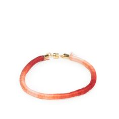 ombre wrapped bracelet, rust #dogeared