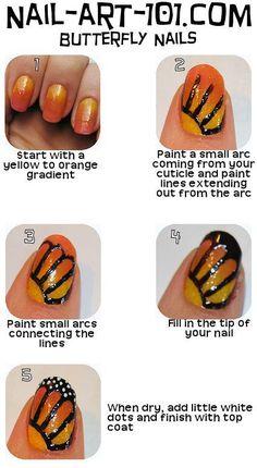 monarch butterfly/borboleta monarca