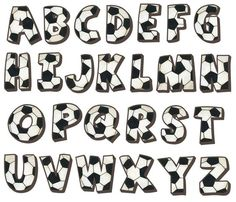 Soccer Alphabet Wall Decals                                                                                                                                                                                 More