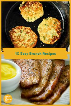 Start the morning off on the right foot with these 10 easy brunch recipes. #BrunchEasy #spreadthemustard