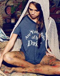 Wildfox - Are You Afraid of the Dark Tee