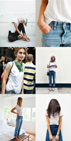 I Would Wear That...The Classic White Tee. - Bliss