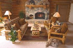 I absolutely love everything about this room! Especially the fireplace and the furniture frames