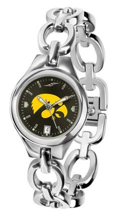 NCAA Iowa Hawkeyes Ladies' Eclipse AnoChrome Watch