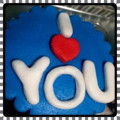 I love you Cupcake Postrería