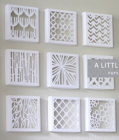Here we will learn about the cut out canvas art projects and ideas about it. Cut Out Canvas, Origami, Cut Out Art, Canvas Art Projects, Paper Quilt, Diy And Crafts, Paper Crafts, Easy Crafts, Deco Originale