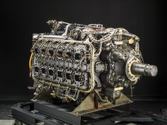 Napier Sabre IIA Horizontally-Opposed 24 Engine | National Air and Space Museum