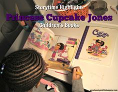 Princess Cupcake Jones children's book series is the perfect addition to any little brown girl's library. It's a great gift for this holiday season.