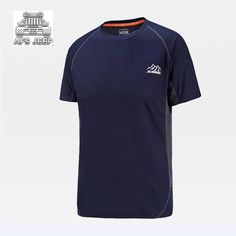 Quick Drying Men T Shirt Afs Jeep New  Tshirts Plus Size 7XL Summer Breathable Short Seeve Brand Clothing 2017 New