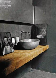 Méchant Studio Blog: concrete sink