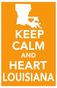 keep calm print louisiana art poster all 50 by ThePickleShop, $14.99