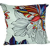 Country Floral Polyester Decorative Pillow Co... – USD $ 14.99