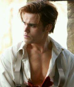 RIPPER! Stefan Salvatore! Hooooooottt!
