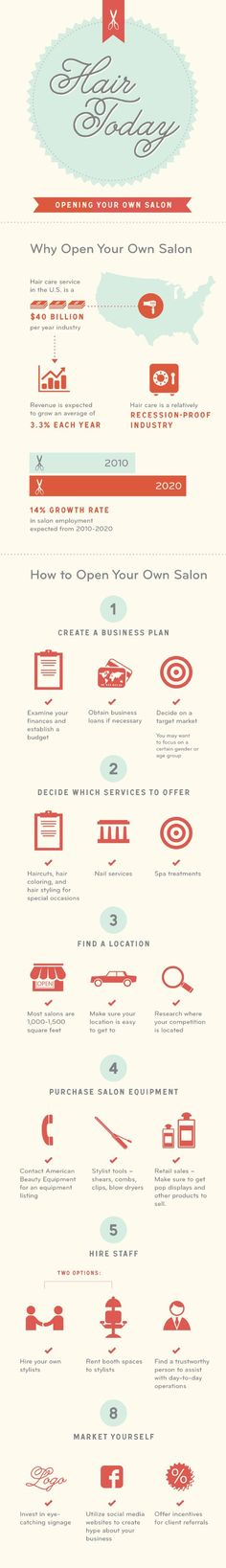 Interesting info about why you should open your own salon. Let us know what you think. #salons #business #owners