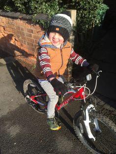 My little biking partner!!