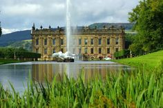 Used in filming of Pride and Prejudice - Chatworth House - North Derbyshire England