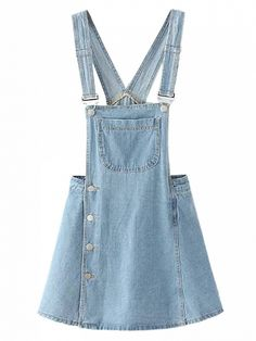 87d66d0a8519 Cotton-rich denim Pinafore style Adjustable clip front straps Buttoned  sides Functioning pockets Shorts lined