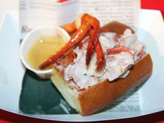 Lobster rolls are a flawless summer food. Yep, I'd eat that.