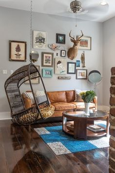 Rule Breaking Living Rooms that Look Great Anyway | Apartment Therapy